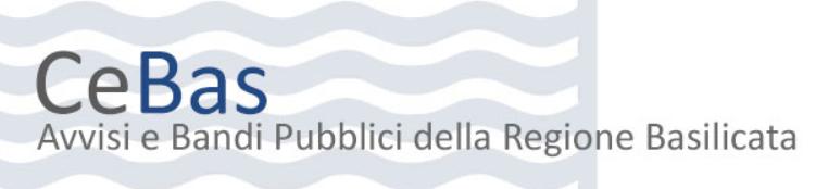 Bandi Regione Basilicata